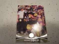 2012 Topps Prime Retail Card 72 Antonio Brown Pittsburgh Steelers Receiver Mint | eBay