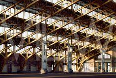 The Halle. Tony Garnier in Lyon, France.