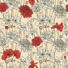 vintage floral patterns - Google Search