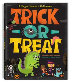 Trick or Treat was published by Beach Lane Books, written by Debbie Leppanen and illustrated by Tad Carpenter. The Halloween book Trick or Treat: A Happy Haunter's Halloween is full of fun Halloween poems and large bright illustrations. This book promotes…