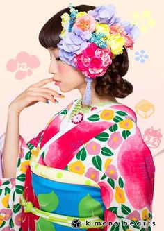 https://www.facebook.com/kimono.hearts.jp #kimono