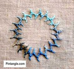 A step by step illustrated tutorial on how to hand embroider knotted cretan stitch with photos and ideas of how to use it in your hand embroidered projects.