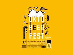 Oktoberfest Beer Poster designed by Suzanne Nieuman (Phanatique). Connect with them on Dribbble; Jazz Poster, Beer Poster, Film Poster, Oktoberfest Decorations, Food Graphic Design, Plakat Design, Beer Quotes, Beer Festival, Grafik Design