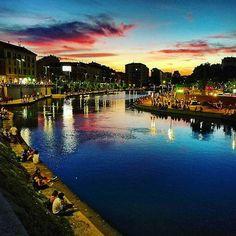 #Milano di sera.. #milanodavedere Foto di Simona Simona Milano da Vedere