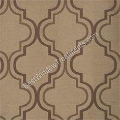 Penrose Curtain Drapery Panels. Pattern CurtainsDrapery PanelsMoroccan Tiles Brown ...