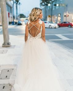 """Blush by Hayley Paige """"Halo"""" Gown #jlmcouture #justgotpaiged"""
