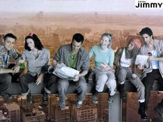 Really wish this show was still on -- I grew up with Joey, Monica, Chandler, Phoebe, Rachel and Ross.