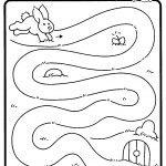 anasınıfı tavşanlı yol çizme çalışmaları