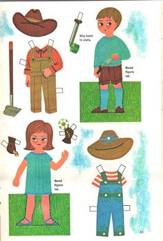 Jack & Jill magazine cut-outs - Lorie Harding - Picasa-Webalben Umgebung bei templates & printables