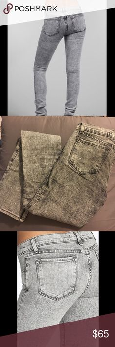 Flash Sale! J Brand Pencil Leg Jeans in XRAY 24 waist. 912 style. Xray fade. Low rise J Brand Jeans Skinny