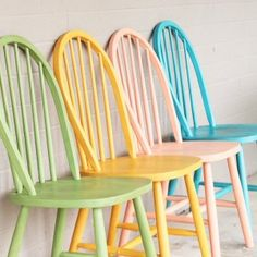 Easy chalky paint tutorial, furniture makeover.