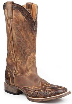 Stetson Boots Stetson Western Boot Style 11 Inch Men Boots 12-020-8861-0750