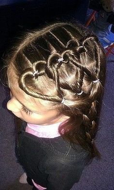 Some day when I have a little girl I will do this hair style in her hair!!!