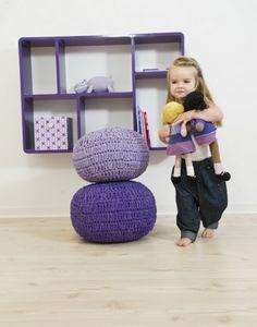 Libreria per bambini a scomparti Sebra - Viola Kids Furniture, Bean Bag Chair, Baby Kids, Kids Room, Sweet Home, Barn, Design, Home Decor, Interiors