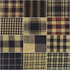 Navy Homespun Fabric Fat Quarter Bundle - Dunroven House - Dunroven House