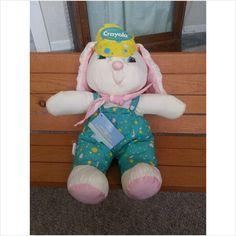 1993 Binney & Smith Hallmark Crayola Easter Bunny w/Hangtag on eBid United States $12.99