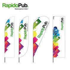 Découvrez notre gamme de « Beach Flags » : « Classique », « Plume », « Bulle », « Rectangulaire »...💨 Logos, Flag, Veil, Feather, Classic, Logo