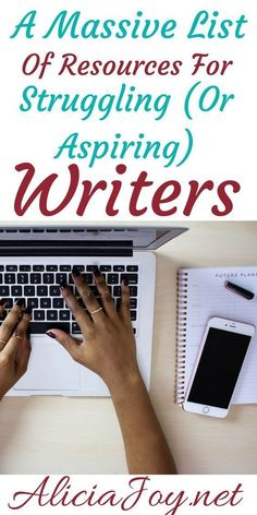 Massive List of Resources to Make Money Writing This is a massive list of resources for struggling (or aspiring) writers. I've shared all of my favorite writer's tips. Creative Writing Tips, Book Writing Tips, Writing Quotes, Fiction Writing, Writing Help, Writing Skills, Writing Prompts, Writing Ideas, Writing Images