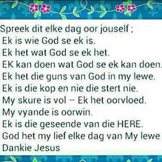 Pray Quotes, Love Life, My Love, My Jesus, Special Quotes, Scripture Verses, Afrikaans, Fun Facts, Prayers