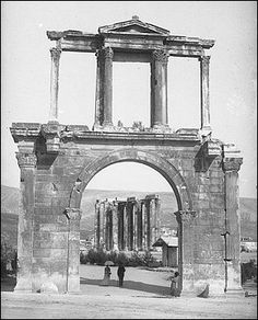 Athens Olympieion Arch of Hadrian 02
