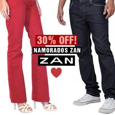 30% de desconto na primeira compra para você acertar no presente do seu amor! <3 #DiadosNamoradosZan