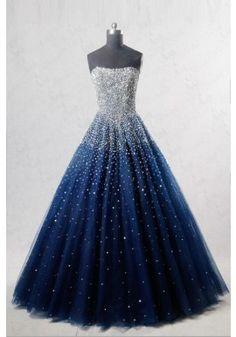 5d87de45ed20 15 Best Navy blue gown images in 2019 | Formal dress, Beautiful ...