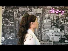 Hairspray Ponytail H427 Hairspray, Step Guide, Ponytail, Extensions, Tv, Hair Styles, Hair Plait Styles, Hair Sprays, Pony Tails