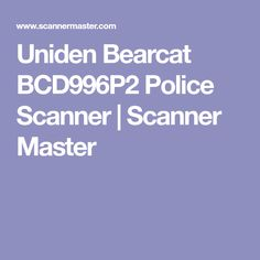18 Best Scanner images in 2018 | Radios, Police, Whistler