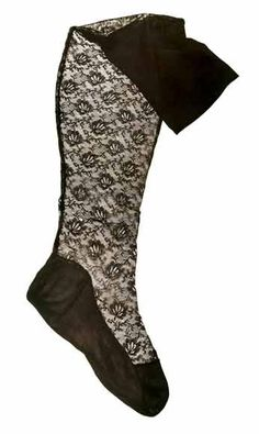Stockings made of exclusive lace, belonging to Madame Pompadour,  mid-18th century.