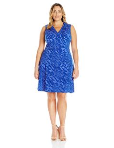 Leota Women's plus-size Sleeveless Reiley Dress ^^ Special  product just for you. See it now! : Women's dresses