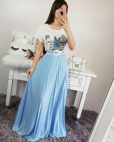 Frock Fashion, Modesty Fashion, Girl Fashion, Fashion Dresses, Modest Dresses, Modest Outfits, Skirt Outfits, Jean Outfits, Dress Skirt
