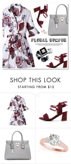 """Floral Romper"" by oshint ❤ liked on Polyvore featuring awesome, pretty, fabulous, wonderful and gamiss"