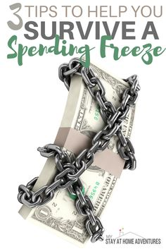 A spending freeze in order to help you financially is an amazing way to help you personally and financially. Learn how you can survive a spending freeze.