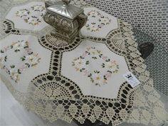 örgü Fiskos örtüsü 45x45 Cross Stitch Embroidery, Knitting Patterns, Tela, Towels, Craft, Garden, Crochet Tablecloth, Crochet Doilies, Table Toppers