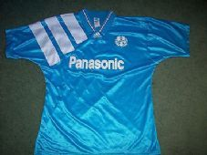 e9c26dc602b 1992 1993 Olympique Marseille Away Football Shirt Maillot France Adults  Large REDUCED BY 20% Club
