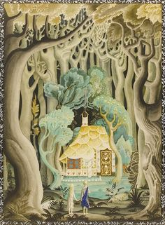 Kay Nielsen, Hansel and Gretel from the Brothers Grimm, 1925.