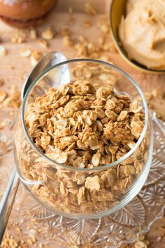 This peanut butter granola would go amazingly with Coconut Chobani!