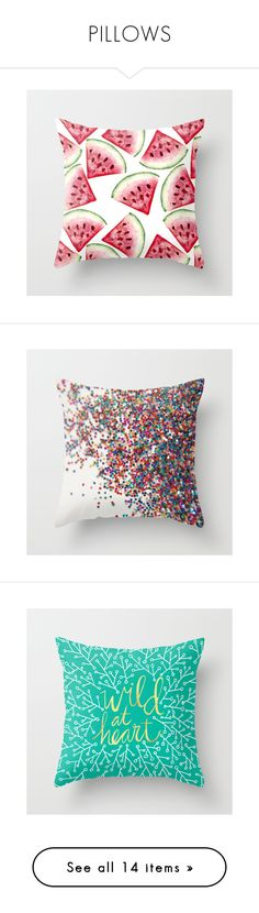 """""""PILLOWS"""" by katievolanski ❤ liked on Polyvore featuring home, home decor, throw pillows, pillows, abstract throw pillows, patterned throw pillows, glitter throw pillows, turquoise home accessories, turquoise throw pillows and quote throw pillows"""