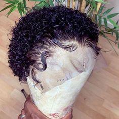 Cute Hairstyles For Medium Hair, Medium Hair Styles, Curly Hair Styles, Kinky Curly Wigs, Human Hair Wigs, Curly Weaves, Raquel Welch, Pixie Cut Wig, Short Pixie