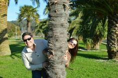 La vida es diferente del lado en que la mires!! #anabelycarlos ven la vida con claridad y muy felices!! blog.carlossain.com
