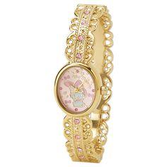 My Melody Wristwatch Bangle Watch Ribbon SANRIO JAPAN