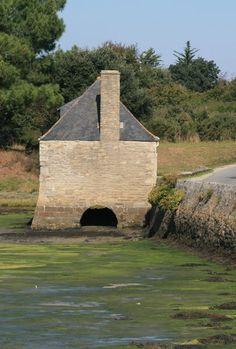 Moulin à marée du Hézo.  tidemill
