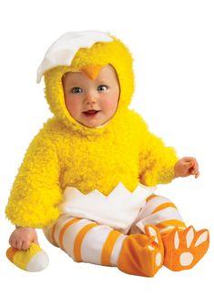 disfraces para bebés de pollo