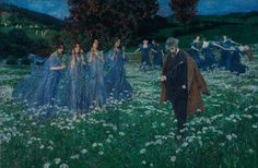 Maximilian Lenz - A World - 1899