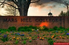 Mars Hill College.. where my best memories come from!