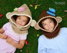 CROCHET PATTERN Sleigh Ride crochet hood pattern by TheHatandI