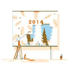 Happy new year! by Tom Haugomat