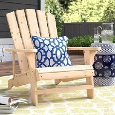 Discover the best adirondack chairs you can find for your outdoor patio. We have a huge variety of different adirondack chairs you will absolutely love. Rustic Adirondack Chairs, Adirondack Rocking Chair, Funky Furniture, Plywood Furniture, Furniture Design, Comfortable Outdoor Chairs, Chair Design, Design Design, Painted Dressers