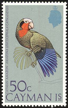 Cuban Amazon stamps - mainly images - gallery format