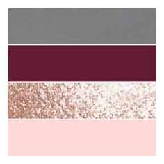 Dark grey, burgundy, rose gold and blush